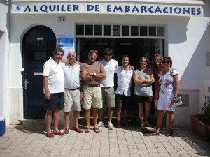 L'equip del Canal de Menorca, els millors!!